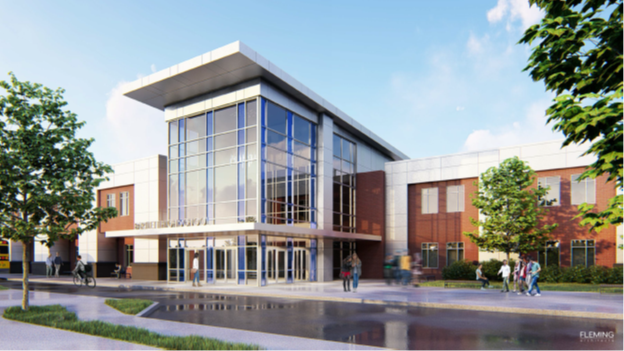 Bartlett High School Renovation - Fleming Architects